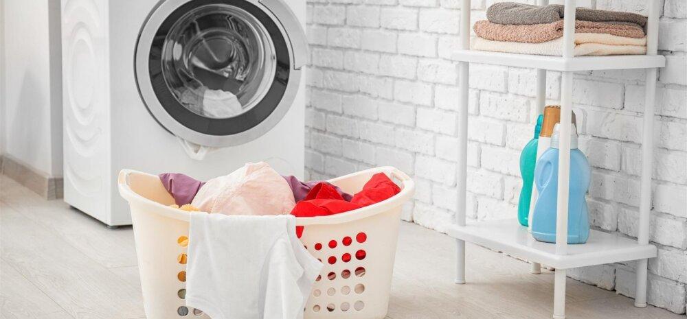 Uuring: üle poole Eesti inimestest ei oska pesumasinat õigesti kasutada