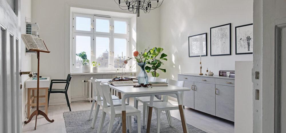 FOTOD │ Üleni valge kodu, mis mõjub helgelt, värskelt ja õhuliselt