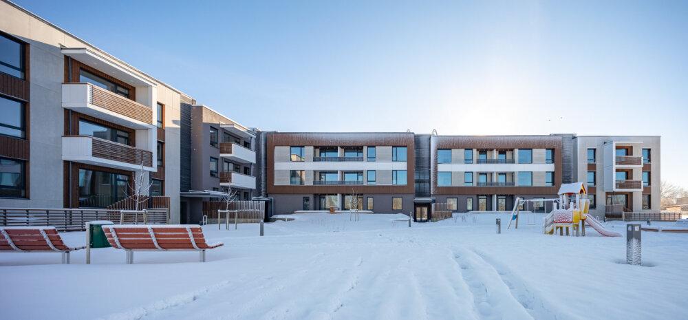 ФОТО | В Сауэ за 4 млн евро построили новый энергоэффективный дом класса А на 48 квартир