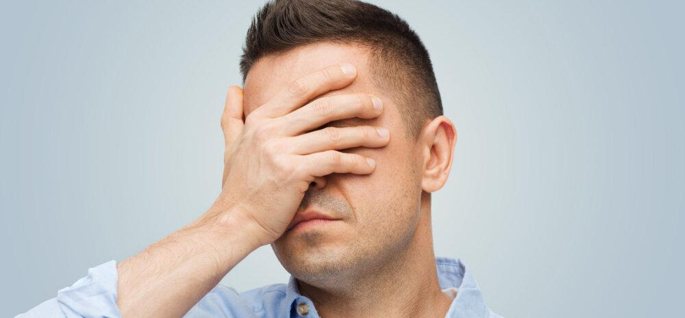 Seitse asja, mida mehel endalegi on piinlik tunnistada