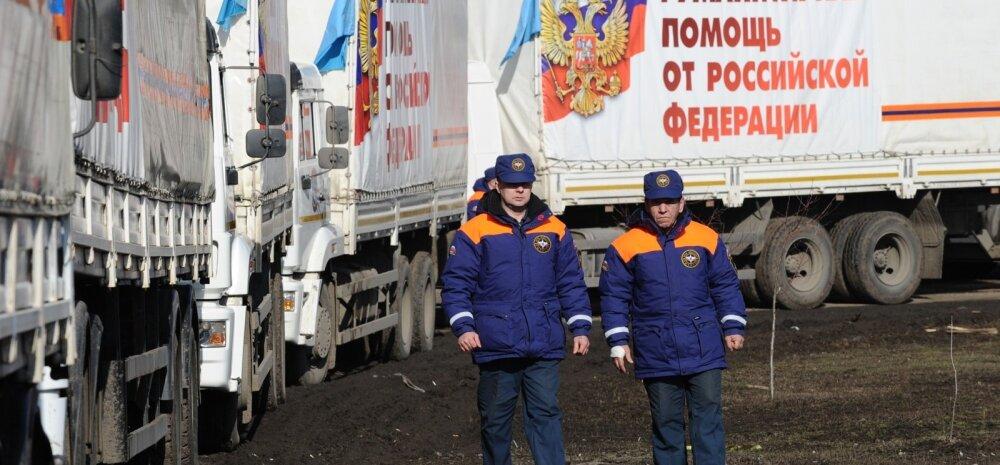 """Ukrainasse jõudis taas Vene """"humanitaarkonvoi"""""""