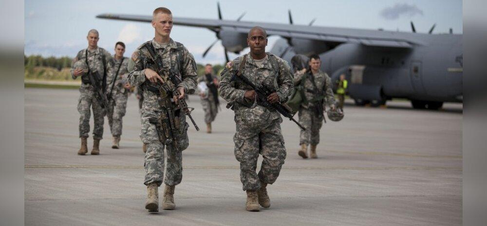 Uus USA õhudessantväelaste rotatsioon saabus Eestisse