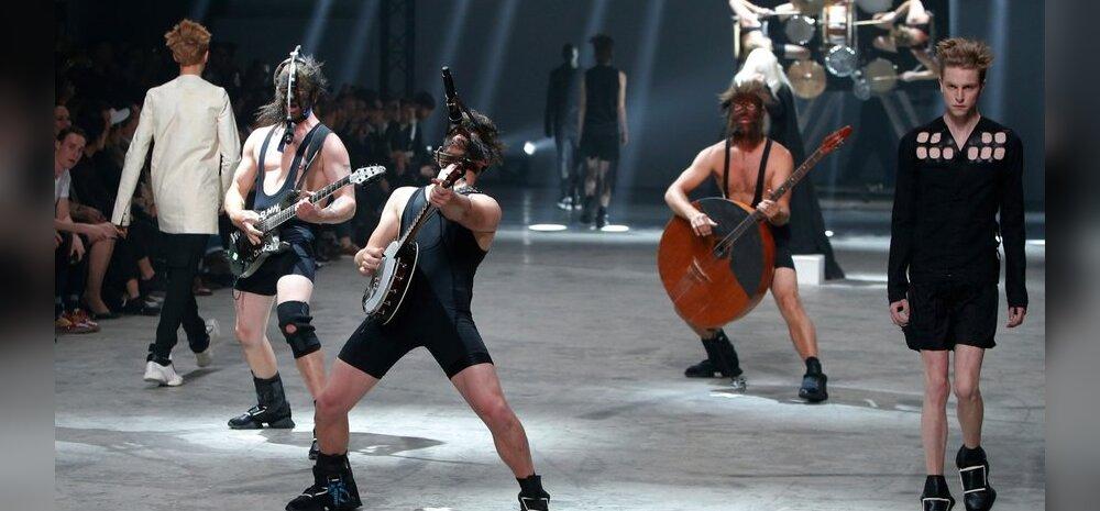 Winny Puhh Rick Owensi show'l Pariisis