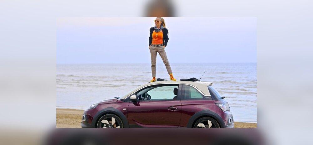 Opel Adam Rocks: vastakaid tundeid tekitav väikeauto