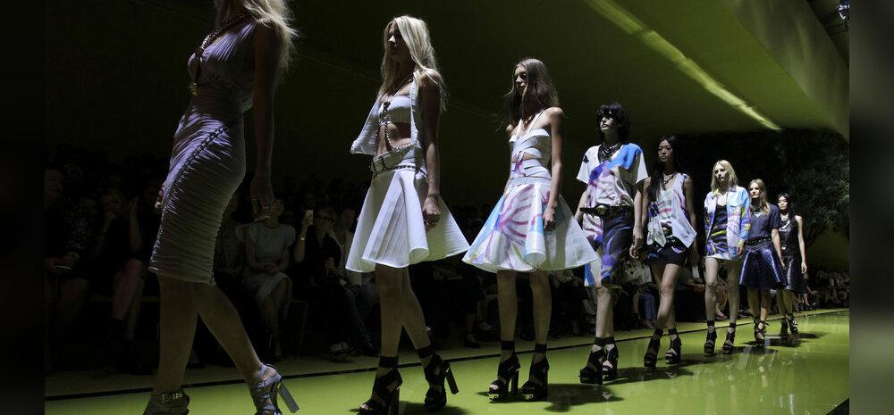 Versace Milano moenädalal