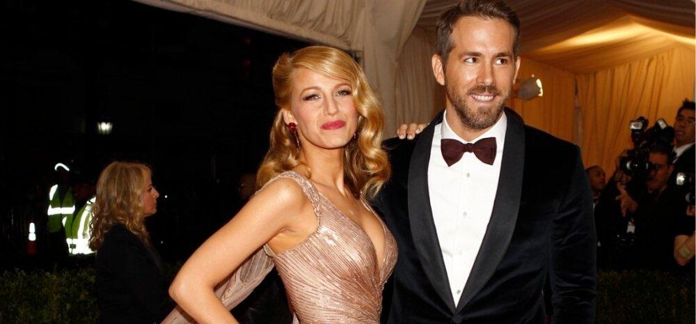 Imetore! Hollywoodi ilusaimad näitlejad Ryan Reynolds ja Blake Lively saavad teise lapse