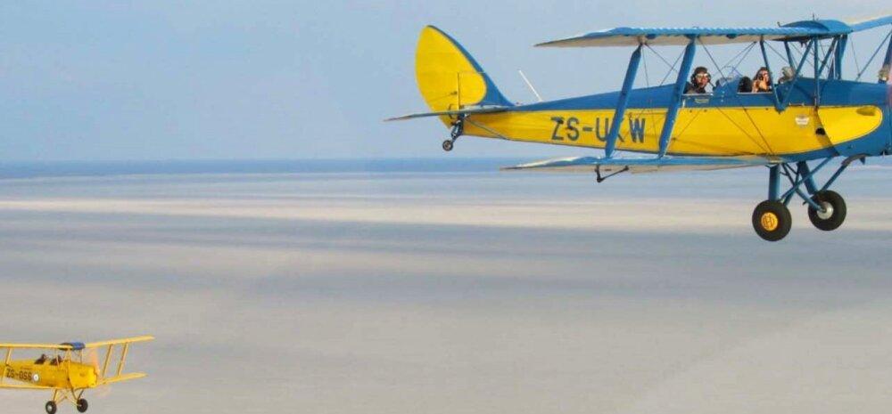 Võimalik ainult Aafrikas: suur <em>vintage-</em>lennukite võiduajamine üle kogu kontinendi!