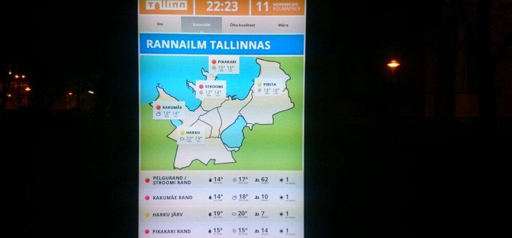 FOTO: Tallinnas on novembris rannailm?