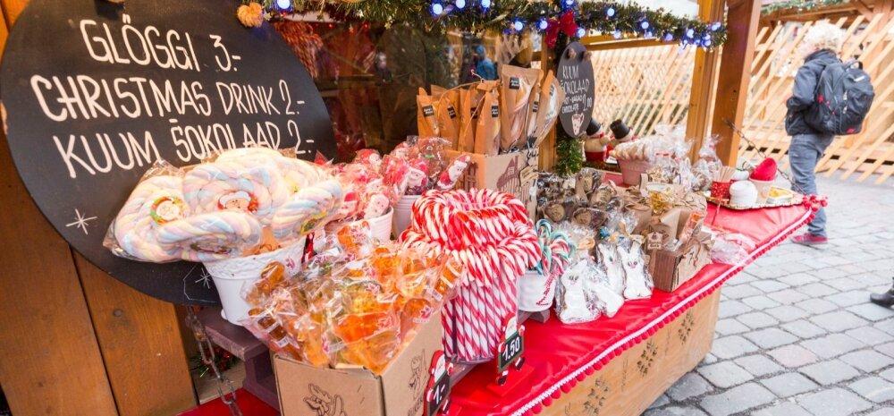 Jõuluturg Raekoja platsil 2015