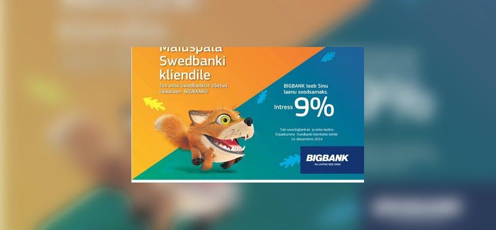 Bigbank vs Swedbank