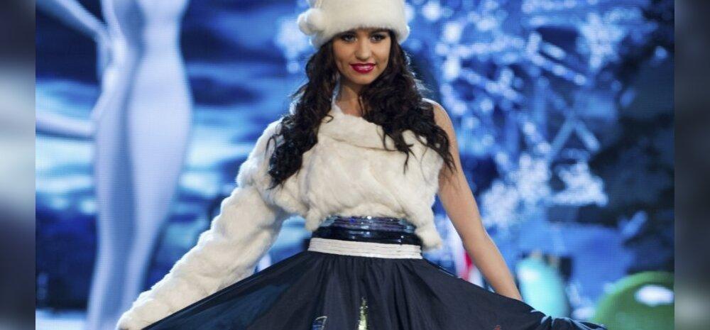 FOTOD: Sinimustvalge Snegurotška! Kuidas meeldib Eesti esindaja Natalie Miss Universumi rahvuskostüüm?