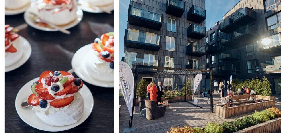 FOTOD | Fotokonkursi võitjad tähistasid Tallinna päeva linna vingeimal katuseterrassil