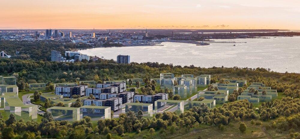ФОТО | На месте бывших локаторов в Ласнамяэ запланировано построить более тысячи квартир