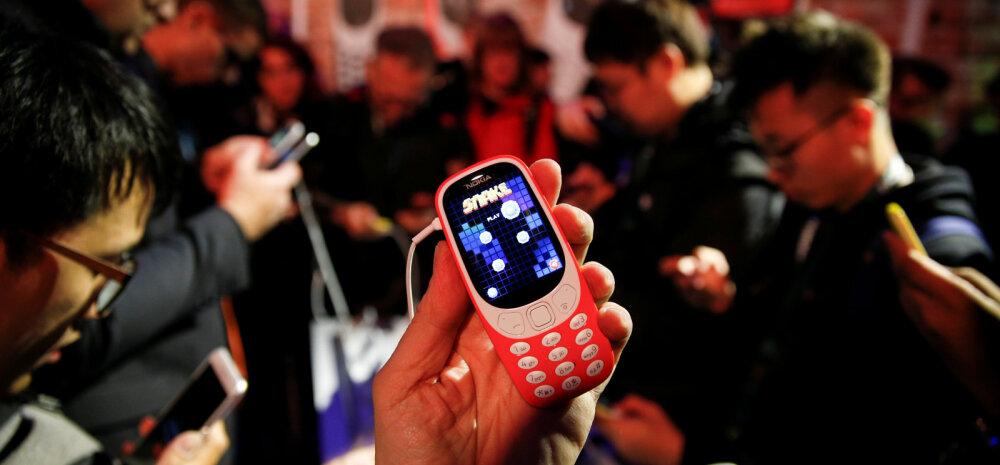 FOTOD: See ei olnudki nali: legendaarne telefon tuleb müügile tagasi. Hind ülisoodne