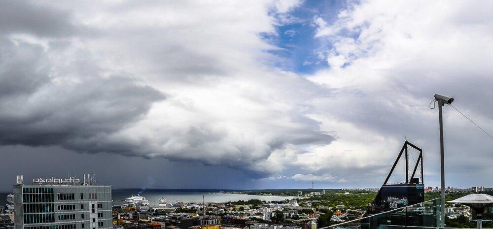 PILTUUDIS | Tallinna kohal kõrgus müstiline pilv