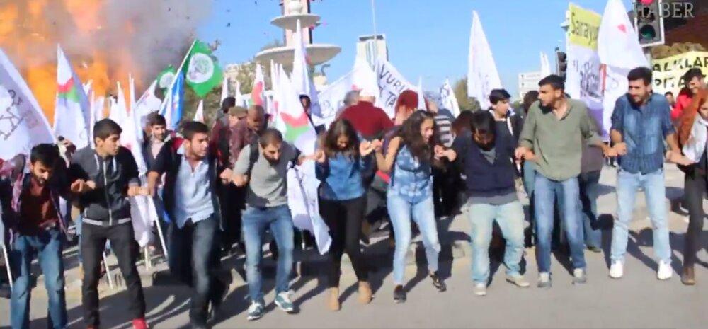 Ankara südames kärgatas mitu võimast plahvatust