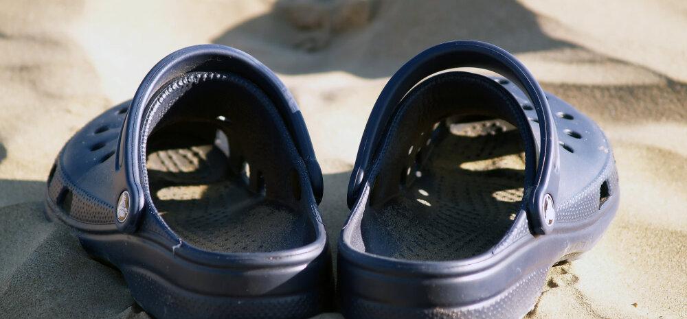 Halb uudis Crocsi fännidele: need teevad su jalgadele karuteene