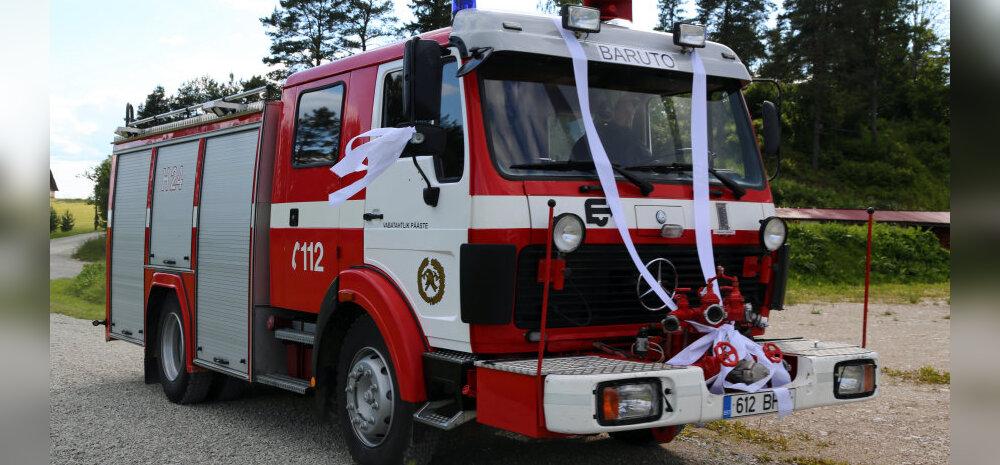Uhke pulmakink - tuletõrjeauto