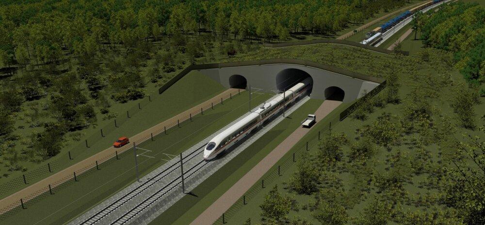 <strong>Rail Baltic: mitu maja lükatakse kokku ja kas üks raudtee peab üldse kasumlik olema?</strong>