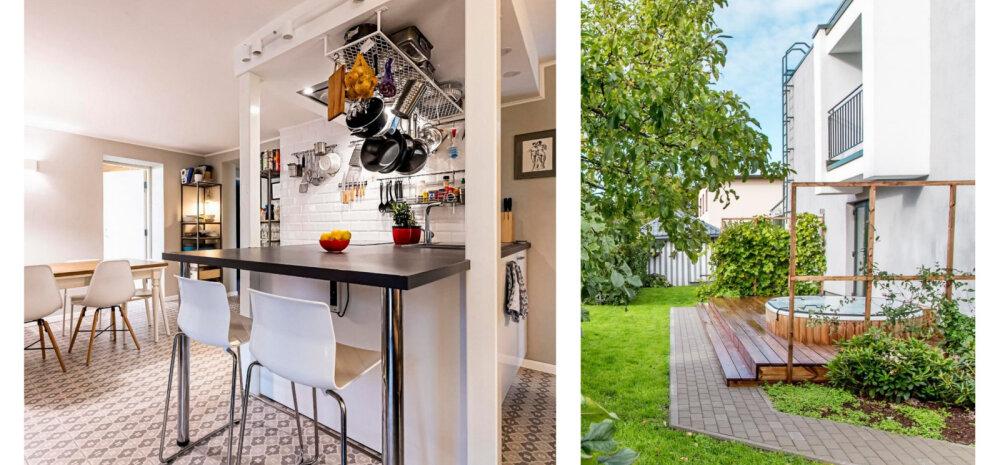 FOTOD | Nõukaaegsest eramust ümber ehitatud kaasaegne kodu Pärnus