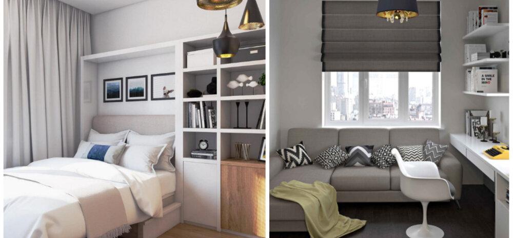 ФОТО │ Дизайн маленькой спальни с диваном: 25 идей