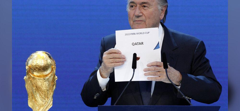 Sepp Blatter kuulutab 2010. aastal Katari MM 2022 korraldajaks