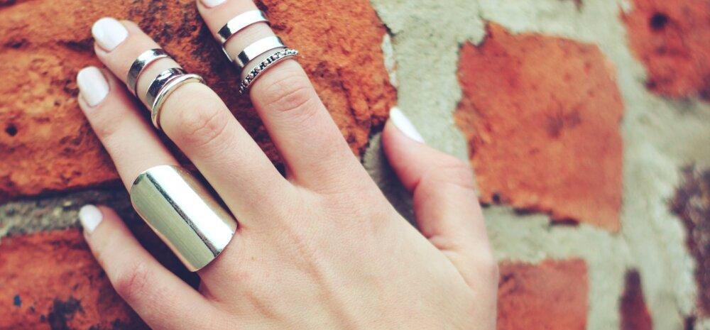 Sõrmus mõjutab saatust: vali hoolega, millisesse sõrme sa sõrmused paned!