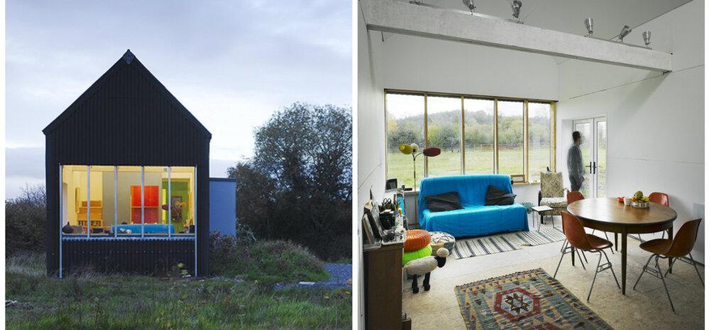 ФОТО | Полноценный дом для маленькой семьи, который обошелся всего в 25 000 евро