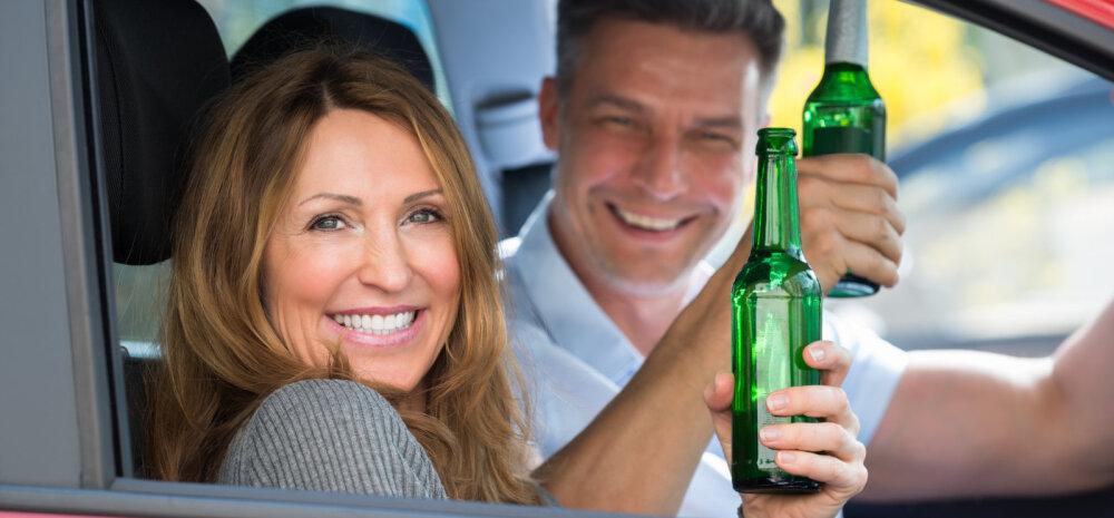 Lugeja jõuluaja joomarallist: kas te tahate, et teie laste pühademälestused oleksid sellest, kuidas vanemad on lääbakil või autoga kraavis?
