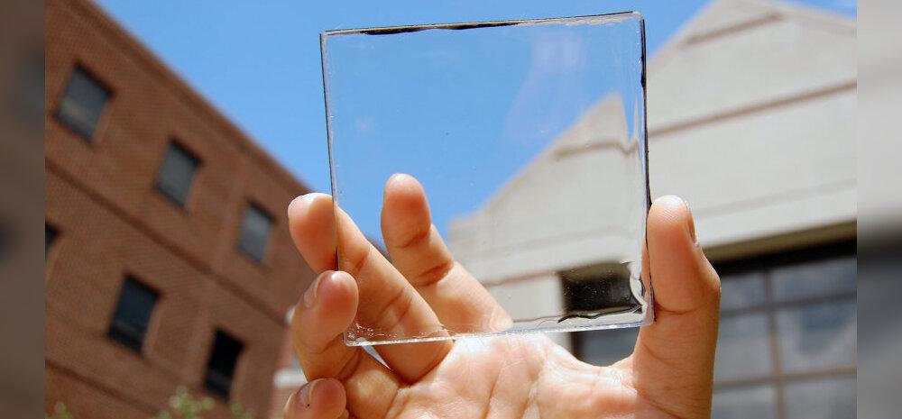 Läbipaistvad päikesepaneelid võivad peagi tava-aknad välja vahetada