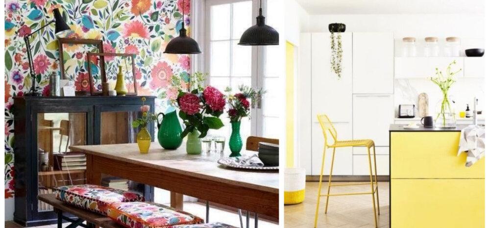 FOTOD | 20 värvikat alternatiivi lihtsale valgele köögile