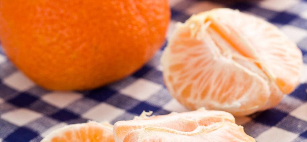 Põnev ja tervislik retsept: mandariini-suitsulõhesalat