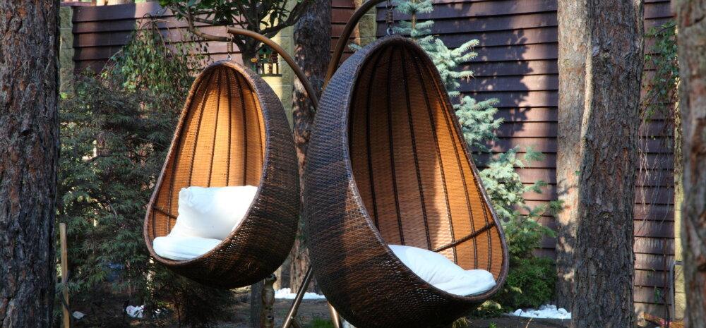 Aiamööbel talvepuhkusele — kuidas hooldada ja hoiustada metallist, puidust ja plastikust õuemööblit?
