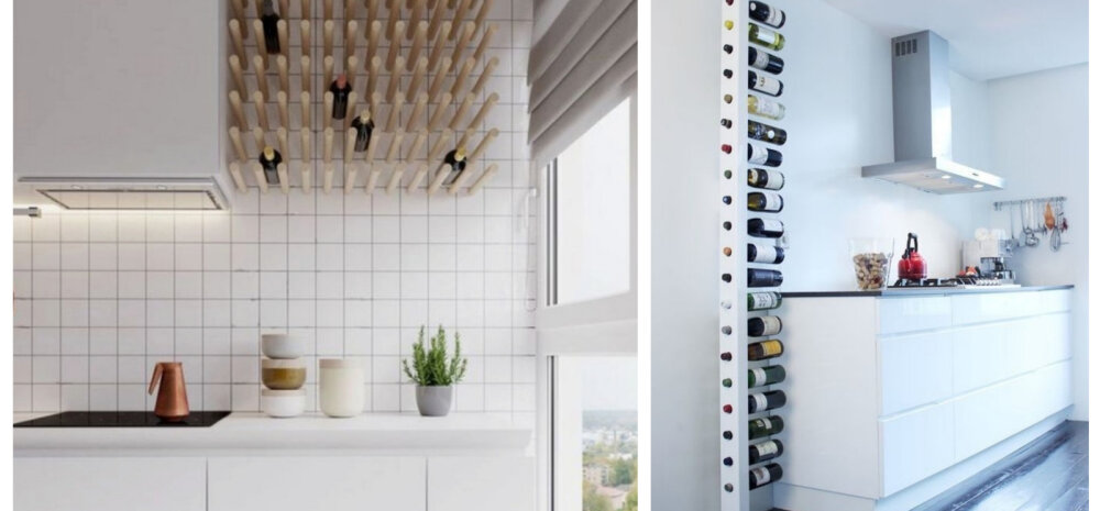 Omapärane veiniriiul on köögis pilgupüüdjaks — vaata lahedaid ideid!