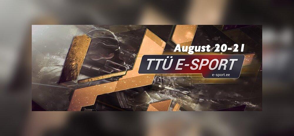 Täna algab TTÜ e-Sport Summer 2016