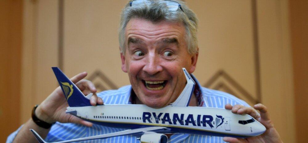 Ryanairi juhatuse esimees Michael O Leary.
