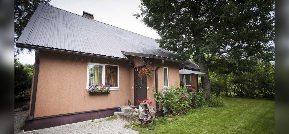 Кредитная история: семья потеряла большой дом под Таллинном из-за долга в 11000 евро!