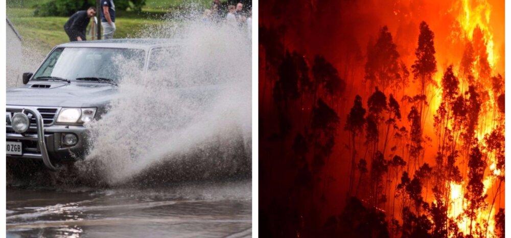 Kliimateadlane Lõuna-Euroopa kuumusest ja Eesti vihmast: oleks kena, kui Venemaa hoolitseks meie ilusa ilma eest