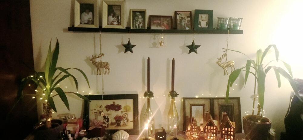 """""""Праздник в нашем доме 2018""""   Изобилие новогодних украшений, заменивших елку"""