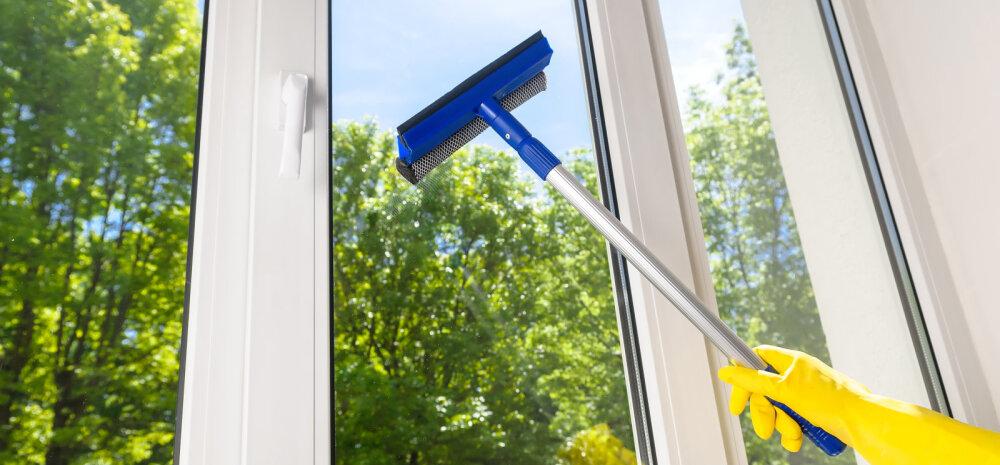 Viis peamist viga, mida akende pesemisel tegema kiputakse