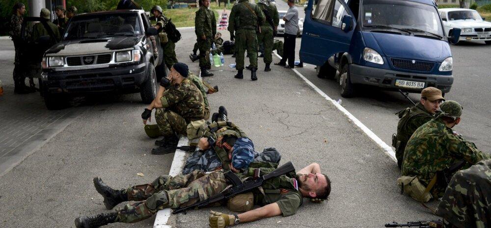 Ukraina elamurajoonid on relvarahu kiuste tule all