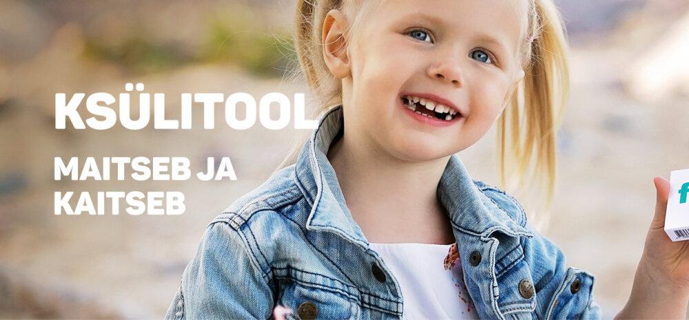 KSÜLITOOL – vältimaks hambakaariest tekitavate mikroobide kandlust vanemalt lapsele