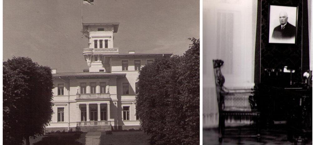 VANAD FOTOD | Vaata pilte hävinud Oru lossist, kus asus president Pätsi suveresidents