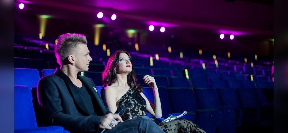 Ines ja Padar Nokia suures saalis