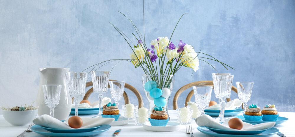 FOTOD │ Lahedaid ideid, kuidas lihavõttepühade puhul pidulauda kaunistada