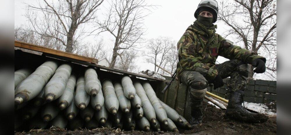 Kremlimeelsed mässulised ründasid Ukraina valitsusvägede positsioone Zaitseve lähedal