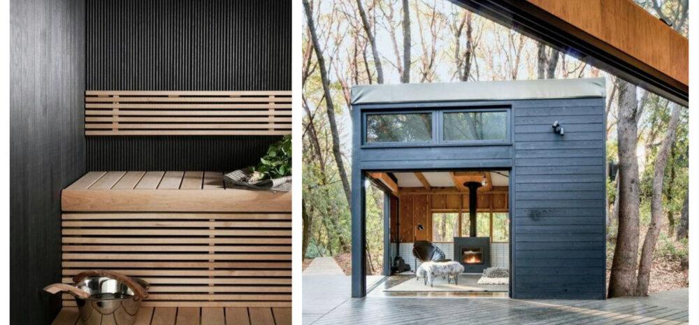 FOTOD | Lahedad saunad ja leiliruumid, millest inspiratsiooni ammutada