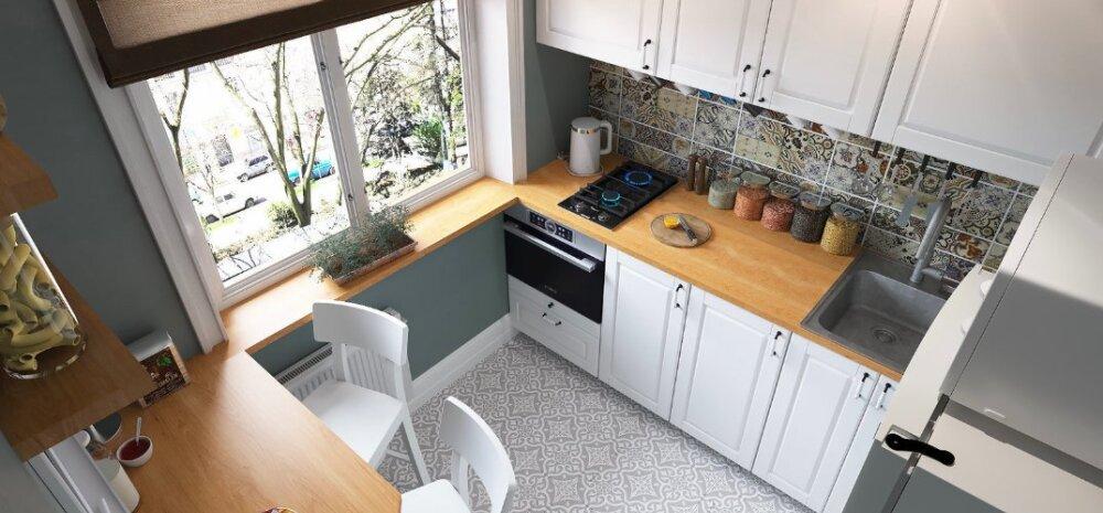 Как оформить маленькую кухню: варианты дизайна