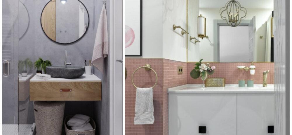 Как обновить интерьер ванной комнаты без капитального ремонта