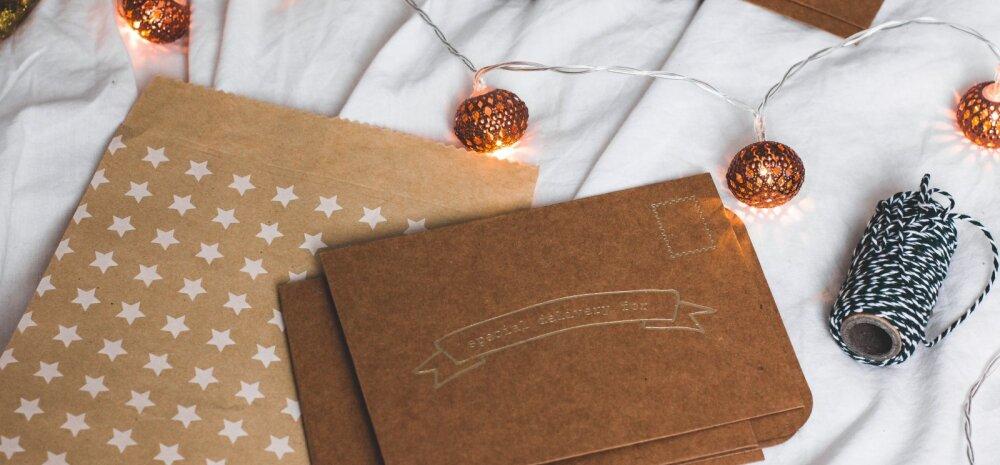 TEE ISE | Rahvusvaheline jõulukaardi päev — jõulukaart kui sisustuselement